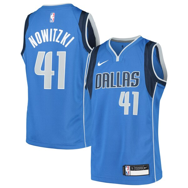 best website 769ce f668d Nike Dirk Nowitzki Dallas Mavericks Youth Blue Swingman Jersey – Icon  Edition