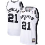 Tim Duncan San Antonio Spurs Mitchell & Ness Hardwood Classics 1998-99 Authentic Jersey - White