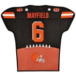 Baker Mayfield Cleveland Browns 14'' x 22'' Jersey Traditions Banner - Brown/Orange