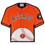 Houston Astros 14'' x 22'' Jersey Traditions Banner - Orange/Navy