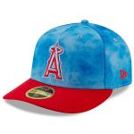 New Era Los Angeles Angels Blue/Red 2019 Father's Day On-Field Low Profile 59FIFTY Fitted Hat