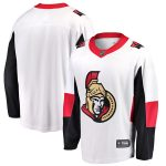 Fanatics Branded Ottawa Senators White Breakaway Away Jersey