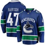 Fanatics Branded Sven Baertschi Vancouver Canucks Blue Breakaway Player Jersey