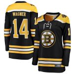 Fanatics Branded Chris Wagner Boston Bruins Women's Black Home Breakaway Player Jersey
