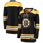 Fanatics Branded Boston Bruins Women's Black Breakaway Home Jersey