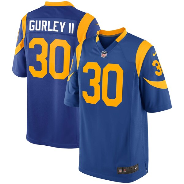 4291d286 Nike Todd Gurley II Los Angeles Rams Royal Youth Alternate Game Jersey