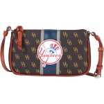 Dooney & Bourke New York Yankees Women's Stadium Signature Lexi Crossbody Purse