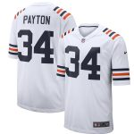 Nike Walter Payton Chicago Bears White 2019 Alternate Classic Retired Player Game Jersey