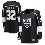 Fanatics Branded Jonathan Quick Los Angeles Kings Women's Black Home Breakaway Player Jersey