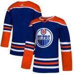 adidas Edmonton Oilers Royal Alternate Authentic Jersey