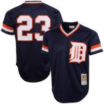 Mitchell & Ness Kirk Gibson Detroit Tigers Navy 1984 Authentic Cooperstown Collection Mesh Batting Practice Jersey