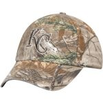 '47 Kansas City Royals Realtree Camo Team Franchise Fitted Hat