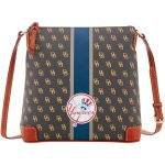 Dooney & Bourke New York Yankees Women's Stadium Signature Zip Crossbody Purse