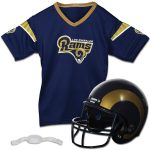 Franklin Sports Los Angeles Rams Youth Helmet and Jersey Set
