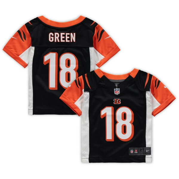 fffd7157 Nike A.J. Green Cincinnati Bengals Toddler Black Game Jersey