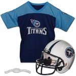 Franklin Sports Tennessee Titans Youth Helmet and Jersey Set