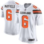 Nike Baker Mayfield Cleveland Browns Youth White Player Game Jersey