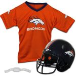Franklin Sports Denver Broncos Youth Helmet and Jersey Set