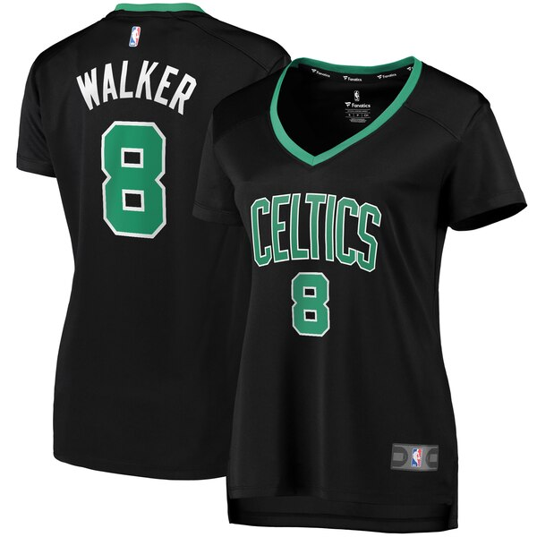 new product bbda8 e4805 Fanatics Branded Kemba Walker Boston Celtics Women's Black Fast Break  Replica Player Jersey – Statement Edition