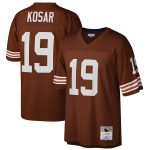 Mitchell & Ness Bernie Kosar Cleveland Browns Brown Retired Player Legacy Replica Jersey