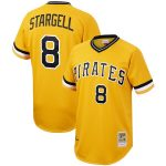 Willie Stargell Pittsburgh Pirates Mitchell & Ness Cooperstown Collection Authentic Jersey - Gold