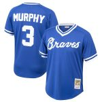 Mitchell & Ness Dale Murphy Atlanta Braves Youth Royal Cooperstown Collection Mesh Batting Practice Jersey