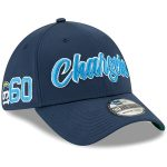 New Era Los Angeles Chargers Navy 2019 NFL Sideline Home Official 39THIRTY 1960s Flex Hat