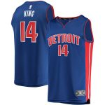 Louis King Detroit Pistons Fanatics Branded Youth Royal Fast Break Replica Jersey - Icon Edition