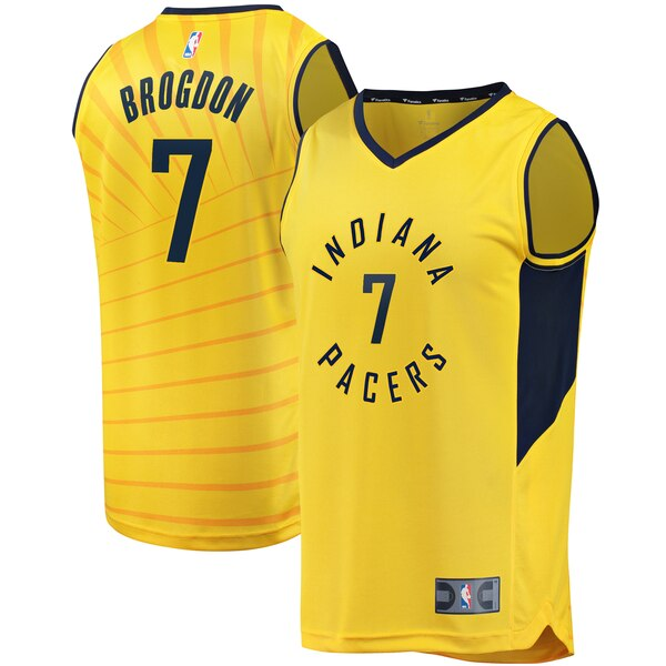 more photos c5c4a 3a0cb Malcolm Brogdon Indiana Pacers Fanatics Branded Youth Gold Fast Break  Replica Jersey - Statement Edition - Gear Up For Sports