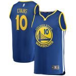 Fanatics Branded Jacob Evans Golden State Warriors Royal Fast Break Replica Jersey - Icon Edition