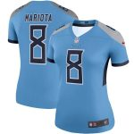 Nike Marcus Mariota Tennessee Titans Women's Light Blue Legend Team Jersey