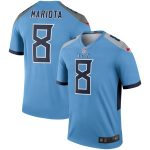 Nike Marcus Mariota Tennessee Titans Light Blue Legend Jersey
