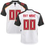 Tampa Bay Buccaneers Youth White Custom Game Jersey