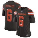 Nike Baker Mayfield Cleveland Browns Brown Speed Machine Limited Jersey