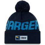 New Era Los Angeles Chargers Youth Navy 2019 NFL Sideline Road Sport Knit Hat