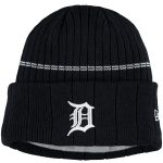 New Era Detroit Tigers Youth Navy On-Field Sport Knit Hat