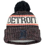 New Era Detroit Tigers Youth Navy Sport Team Cuffed Knit Hat