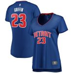 Fanatics Branded Blake Griffin Detroit Pistons Women's Blue Fast Break Replica Jersey - Icon Edition