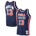 Mitchell & Ness Chris Mullin USA Basketball Navy Home 1992 Dream Team Authentic Jersey