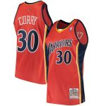 Mitchell & Ness Stephen Curry Golden State Warriors Orange Road 2009/10 Hardwood Classics Authentic Jersey