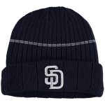New Era San Diego Padres Youth Navy On-Field Sport Knit Hat