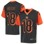 Nike A.J. Green Cincinnati Bengals Youth Anthracite Inverted Game Jersey