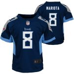 Nike Marcus Mariota Tennessee Titans Preschool Navy Player Game Jersey