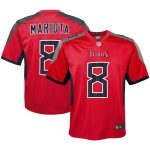 Nike Marcus Mariota Tennessee Titans Youth Red Inverted Game Jersey