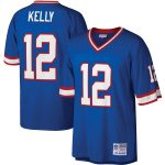 Mitchell & Ness Jim Kelly Buffalo Bills Royal Legacy Replica Jersey