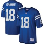 Mitchell & Ness Peyton Manning Indianapolis Colts Royal Legacy Replica Jersey