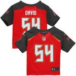 Nike Lavonte David Tampa Bay Buccaneers Infant Red Team Color Game Jersey