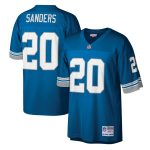 Mitchell & Ness Barry Sanders Detroit Lions Blue Legacy Replica Jersey