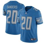 Nike Barry Sanders Detroit Lions Blue 2017 Retired Player Vapor Untouchable Limited Jersey