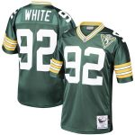 Mitchell & Ness Reggie White Green Bay Packers Green 1993 Authentic Throwback Retired Player Jersey